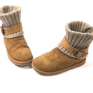 UGG Australia Cambridge Knit Boots Chestnut 6